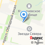 Магнумавто на карте Архангельска