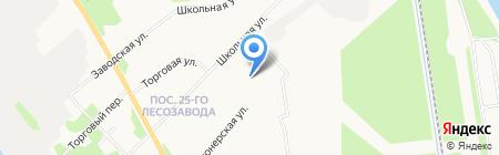 Детский сад №39 Солнышко на карте Архангельска
