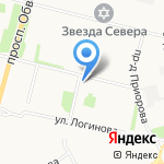 Почтовое отделение №71 на карте Архангельска