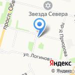 ААРОН на карте Архангельска