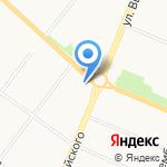 Печной дом на карте Архангельска