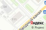 Схема проезда до компании Шиномонтажная мастерская в Архангельске
