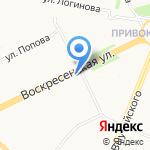 Пиффрозлифф на карте Архангельска