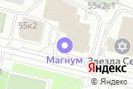 Схема проезда до компании МАГНУМ в Архангельске