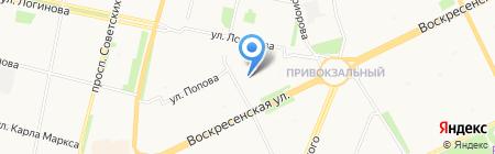 Эдикт на карте Архангельска