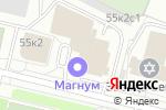 Схема проезда до компании Рыбка в Архангельске