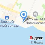 Прага на карте Архангельска