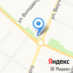 Окто на карте Архангельска