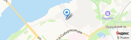 Авангард-Авто на карте Архангельска