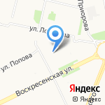 ЦЕНТР ЭКО на Воскресенской на карте Архангельска