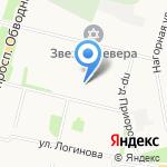 Россияночка на карте Архангельска