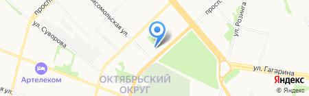 Картридж плюс на карте Архангельска