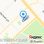АЛЬФА на карте Архангельска