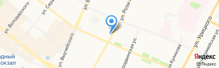 Магазин сантехники на карте Архангельска