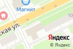 Схема проезда до компании Снежинка в Архангельске