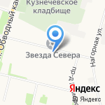 Мастерица на карте Архангельска