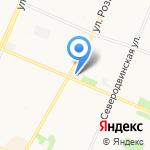 Управление Пенсионного фонда РФ в г. Архангельске на карте Архангельска