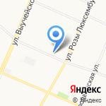 Мое солнышко на карте Архангельска