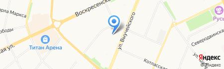 Золотой ключик на карте Архангельска