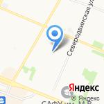Санаторий-профилакторий на карте Архангельска