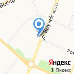 АЛЬТ-Мебель на карте Архангельска