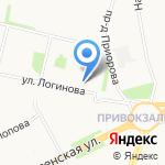 АЙСС на карте Архангельска