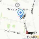 Красотка на карте Архангельска