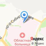 Архангельская областная научная медицинская библиотека на карте Архангельска