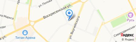 АВА СЕРВИС на карте Архангельска