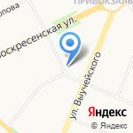 АВА КЛИНИК на карте Архангельска