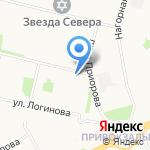 Людмила на карте Архангельска