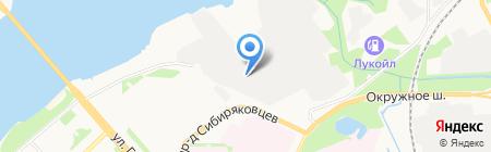 АвтоРЭП на карте Архангельска