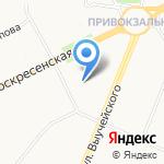 Средняя школа №4 на карте Архангельска