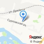 Морячок на карте Архангельска