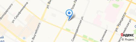 СтройСити на карте Архангельска