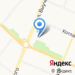 Федерация айкидо Поморья на карте Архангельска
