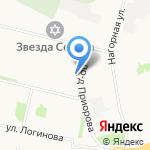 АнТа на карте Архангельска