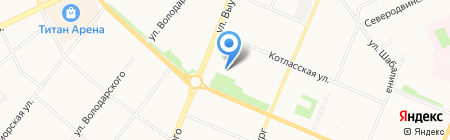Архангельская Федерация стрельбы из лука на карте Архангельска