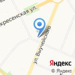 Следственное управление МВД России по Архангельской области на карте Архангельска