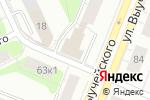 Схема проезда до компании Следственное управление МВД России по Архангельской области в Архангельске
