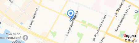 Строй-Капитал на карте Архангельска