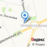Астра на карте Архангельска