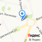 Элекснет на карте Архангельска