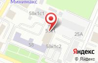 Схема проезда до компании Инвестстрой в Архангельске