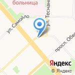 Свежий хлеб на карте Архангельска