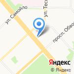 Пчёлка на карте Архангельска