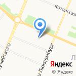 Мастер на карте Архангельска