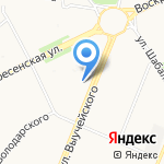 Ника на карте Архангельска