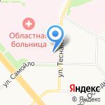 Бюро судебно-медицинской экспертизы на карте Архангельска
