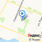 Автошкола на карте Архангельска